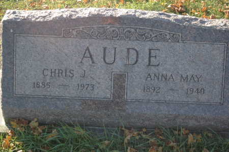 AUDE, ANNA MAY - Clinton County, Iowa | ANNA MAY AUDE