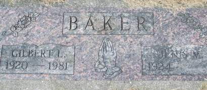 BAKER, GILBERT L. - Clinton County, Iowa | GILBERT L. BAKER