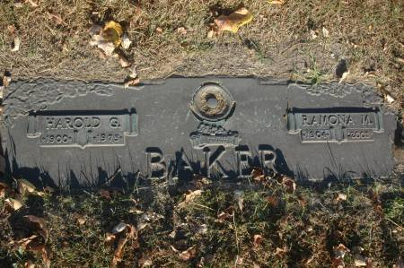 BAKER, RAMONA M. - Clinton County, Iowa | RAMONA M. BAKER