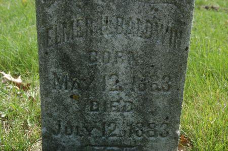 BALDWIN, ELMER H. - Clinton County, Iowa | ELMER H. BALDWIN
