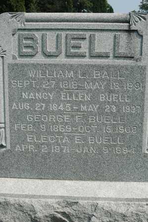 BUELL, ELECTA E. - Clinton County, Iowa | ELECTA E. BUELL