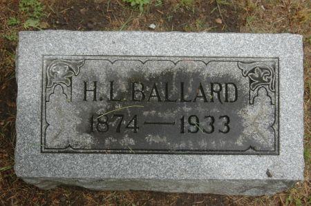 BALLARD, H.L. - Clinton County, Iowa   H.L. BALLARD