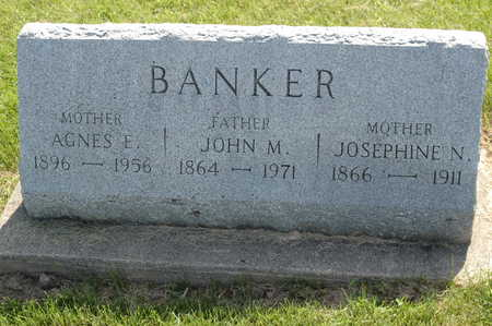 NEW BANKER, JOSEPHINE M. - Clinton County, Iowa | JOSEPHINE M. NEW BANKER