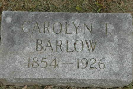 BARLOW, CAROLYN T. - Clinton County, Iowa | CAROLYN T. BARLOW