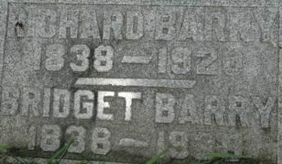 BARRY, BRIDGET - Clinton County, Iowa   BRIDGET BARRY