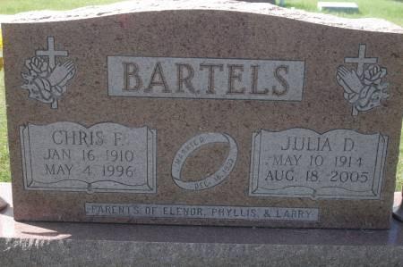 BARTELS, CHRIS F. - Clinton County, Iowa | CHRIS F. BARTELS