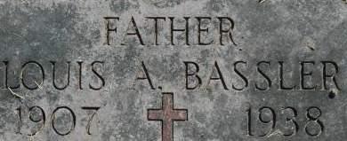 BASSLER, LOUIS A. - Clinton County, Iowa | LOUIS A. BASSLER