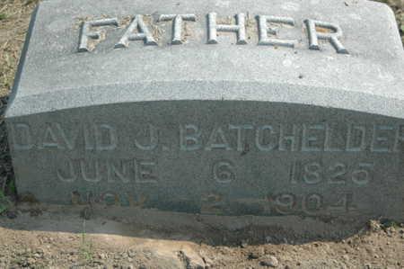 BATCHELDER, DAVID J. - Clinton County, Iowa   DAVID J. BATCHELDER