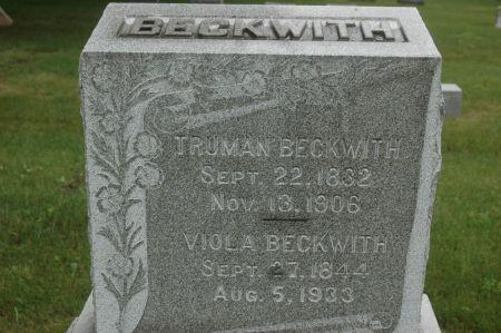 BECKWITH, TRUMAN - Clinton County, Iowa | TRUMAN BECKWITH