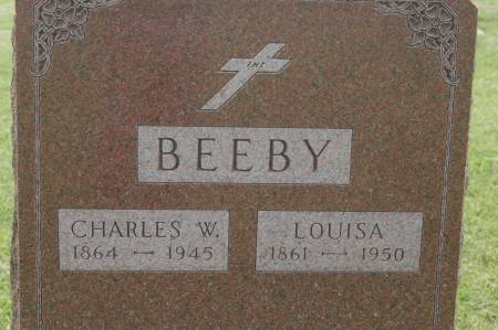 BEEBY, LOUISA - Clinton County, Iowa | LOUISA BEEBY