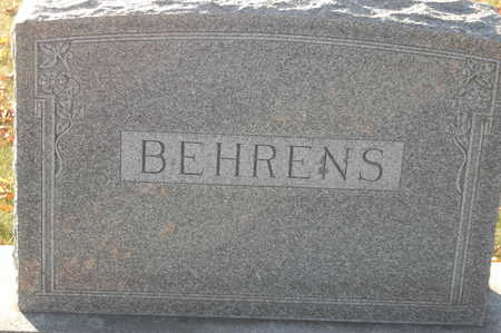 BEHRENS, FAMILY MONUMENT - Clinton County, Iowa   FAMILY MONUMENT BEHRENS