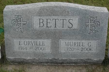 BETTS, MURIEL G. - Clinton County, Iowa | MURIEL G. BETTS