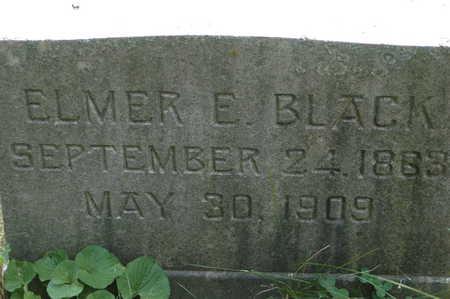 BLACK, ELMER E. - Clinton County, Iowa | ELMER E. BLACK