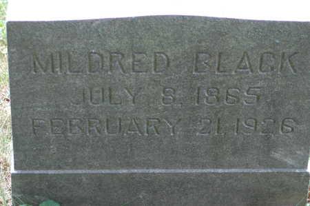 BLACK, MILDRED - Clinton County, Iowa | MILDRED BLACK