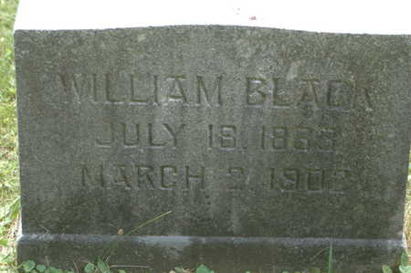 BLACK, WILLIAM - Clinton County, Iowa   WILLIAM BLACK