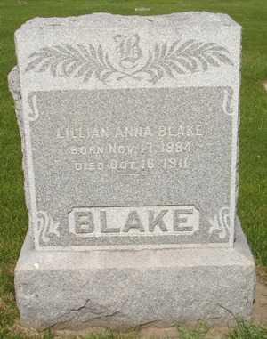 BLAKE, LILLIAN - Clinton County, Iowa | LILLIAN BLAKE