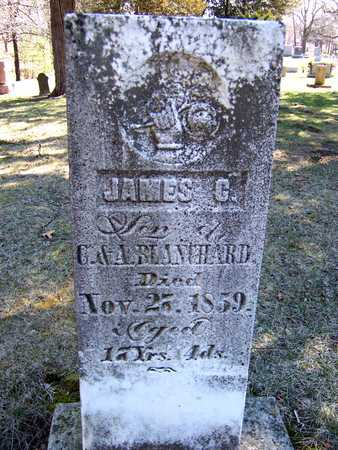 BLANCHARD, JAMES C. - Clinton County, Iowa | JAMES C. BLANCHARD