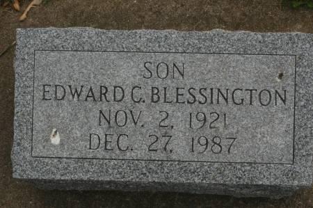 BLESSINGTON, EDWARD C. - Clinton County, Iowa | EDWARD C. BLESSINGTON