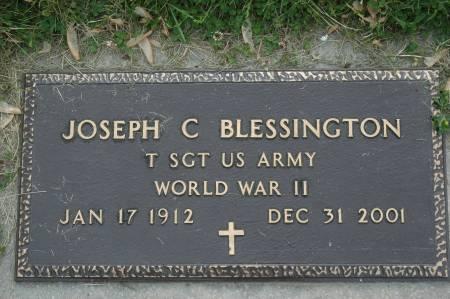 BLESSINGTON, JOSEPH C. - Clinton County, Iowa | JOSEPH C. BLESSINGTON