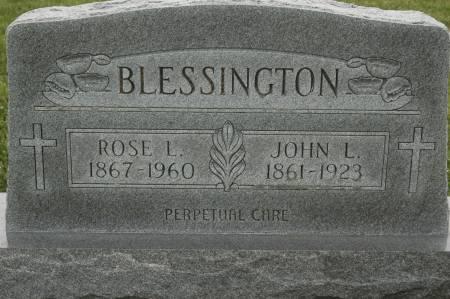 BLESSINGTON, JOHN L. - Clinton County, Iowa | JOHN L. BLESSINGTON