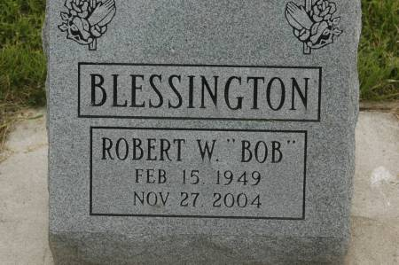 BLESSINGTON, ROBERT W. - Clinton County, Iowa   ROBERT W. BLESSINGTON