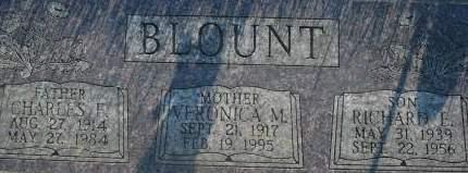 BLOUNT, CHARLES F. - Clinton County, Iowa | CHARLES F. BLOUNT