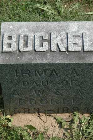BOCKEL, IRMA - Clinton County, Iowa | IRMA BOCKEL