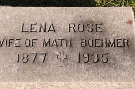ROSE BOEHMER, LENA - Clinton County, Iowa | LENA ROSE BOEHMER