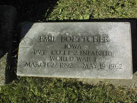 BOETTCHER, EMIL - Clinton County, Iowa   EMIL BOETTCHER