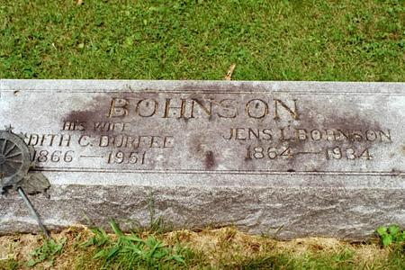 DURFEE BOHNSON, EDITH C. - Clinton County, Iowa | EDITH C. DURFEE BOHNSON