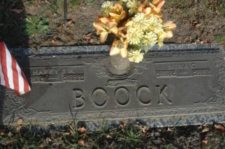 BOOCK, HARRY J.A. - Clinton County, Iowa   HARRY J.A. BOOCK