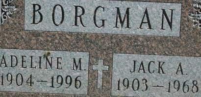 BORGMAN, JACK A. - Clinton County, Iowa | JACK A. BORGMAN
