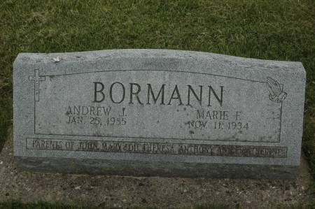BORMANN, ANDREW J. - Clinton County, Iowa | ANDREW J. BORMANN
