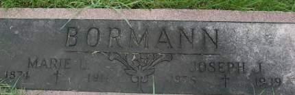 BORMANN, MARIE L. - Clinton County, Iowa   MARIE L. BORMANN