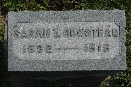 BOWSTEAD, SARAH T. - Clinton County, Iowa | SARAH T. BOWSTEAD