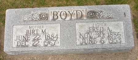 BOYD, BIRT M. - Clinton County, Iowa | BIRT M. BOYD