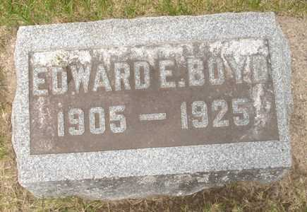 BOYD, EDWARD - Clinton County, Iowa | EDWARD BOYD
