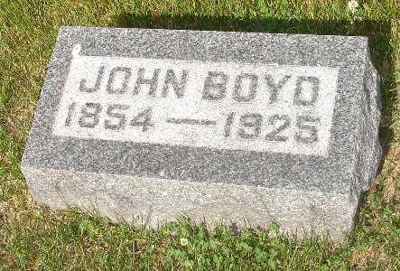 BOYD, JOHN - Clinton County, Iowa | JOHN BOYD