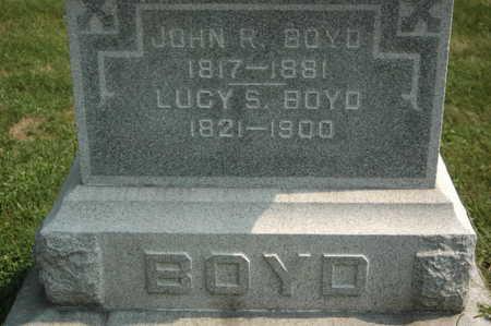 BOYNTON BOYD, LUCY - Clinton County, Iowa | LUCY BOYNTON BOYD