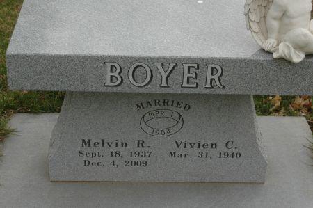 BOYER, VIVIEN C. - Clinton County, Iowa   VIVIEN C. BOYER