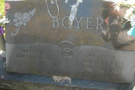 BOYER, HELEN L. - Clinton County, Iowa | HELEN L. BOYER