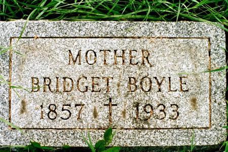 MADDEN BOYLE, BRIDGET - Clinton County, Iowa | BRIDGET MADDEN BOYLE