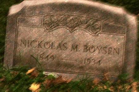 BOYSEN, NICK - Clinton County, Iowa   NICK BOYSEN