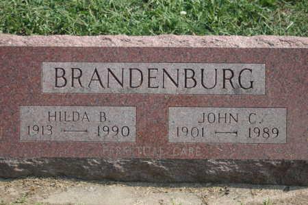 BRANDENBURG, JOHN C. - Clinton County, Iowa | JOHN C. BRANDENBURG