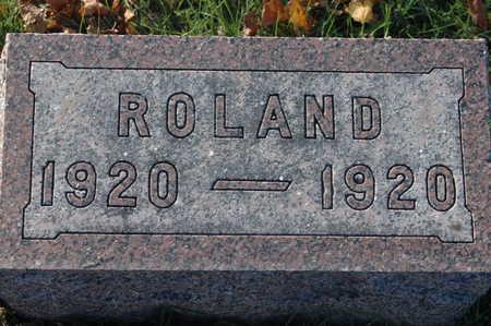 BRANDENBURG, ROLAND - Clinton County, Iowa   ROLAND BRANDENBURG
