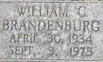 BRANDENBURG, WILLIAM C. - Clinton County, Iowa | WILLIAM C. BRANDENBURG