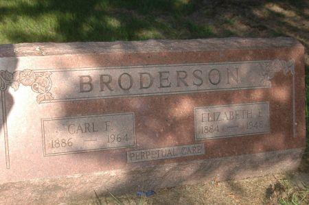 BRODERSON, ELIZABETH E. - Clinton County, Iowa | ELIZABETH E. BRODERSON