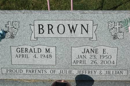 MANION  BROWN, JANE E - Clinton County, Iowa | JANE E MANION  BROWN