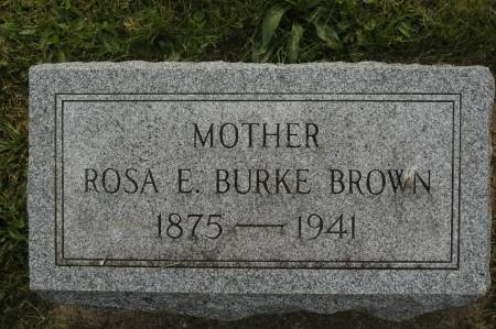 BURKE BROWN, ROSE E. - Clinton County, Iowa | ROSE E. BURKE BROWN