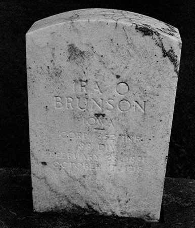 BRUNSON, IRA O. - Clinton County, Iowa | IRA O. BRUNSON